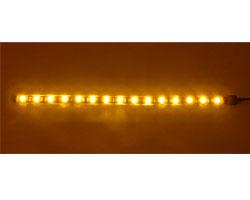 Bitfenix Alchemy Connect Orange LED Strips- 300mm, Orange color, 15x LEDs