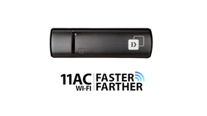 D-Link (DWA-182) Wireless AC1200 Dual Band USB Adapter