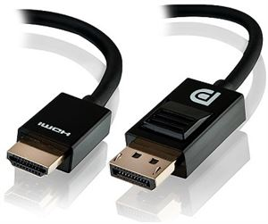 Alogic 5 Meter Display Port to HDMI Cable - Male to Male