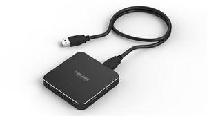 Volans Ultra-Thin 7-Port USB3.0 Hub - Aluminium