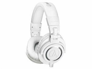 Audio-Technica M50X Premium Studio Monitoring Headphones - White - ATH-M50X-WH