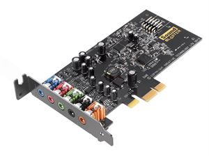 Creative Sound Blaster Audigy Fx PCI-E Soundcard