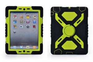 Pepkoo iPad mini 4 Case Black and Green