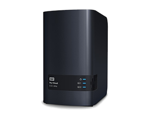 WD 2 Bay My Cloud Ex2 Ultra Nas Media Serve - 4TB