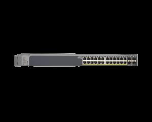 Netgear Prosafe 24 Port  Gigabit Smart Switch With Poe and 4 SFP Ports