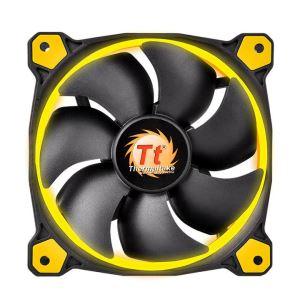 140MM Thermaltake RIING Yellow LED Rad Fan