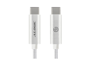 ALOGIC 1m USB 3.1 USB-C to USB-C Cable - Male to Male - Silver