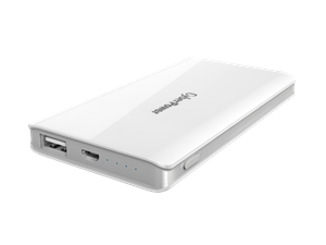 Cyber Power 5000mAH Classic Power Bank - White
