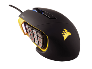 Corsair Scimitar Pro RGB Gaming Mouse - Yellow