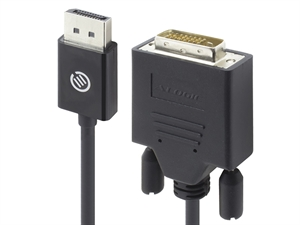 Alogic Elements 2m Display Port to DVI-D Cable - Male to Male