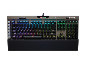 Corsair K95 RGB PLATINUM Mechanical Gaming Keyboard Gunmetal - MX Speed