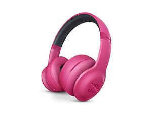 JBL Everest 300 Wireless Bluetooth Headphones - Pink