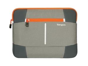 "Targus 14"" Bex II Laptop Sleeve - Grey/Orange"