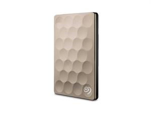 Seagate 2TB BackUp Plus Ultra Slim - Gold