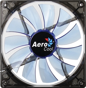 Aerocool Lightning Fan 140mm Blue LED Fan