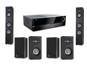 Harman Kardon Infinity 7.2 Channel Home Theatre System Bundle (just add Sub/Centre)