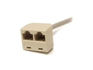 StarTech RJ45SPLITTER 2-to-1 RJ45 Splitter Cable Adapter