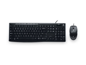 Logitech MK200 Media Keyboard & Mouse Combo