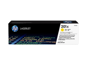 HP 201X High Yield Original LaserJet Toner Cartridge - Yellow