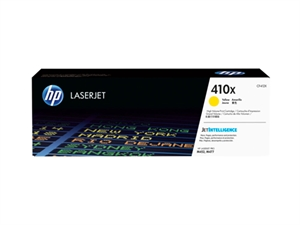HP 410X High Yield Original LaserJet Toner Cartridge - Yellow