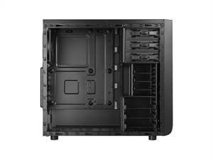 Bitfenix Comrade Window Chassis Mid Tower Case - Black