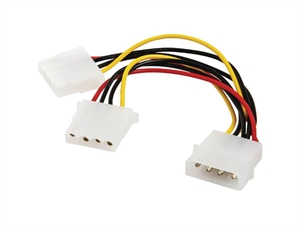 Astrotek Molex (Male) to 2 X Molex (Female) Power Cable