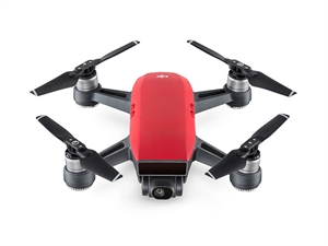 DJI Spark Mini Drone Combo - Lava Red