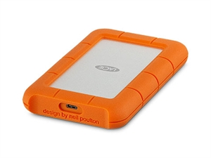 LaCie 1TB Rugged USB-C 3.0 Portable Hard Drive - Data Recovery Services