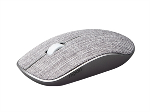 Rapoo 3510 Plus 2.4GHz Wireless Optical Fabric Mouse - Grey