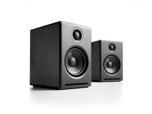 Audioengine 2+ Powered Desktop Speakers(Pair) - Satin Black