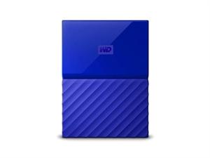 Western Digital WD My Passport 1TB Portable Hard Drive - Blue