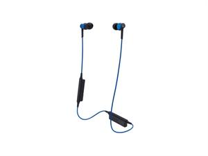 Audio-Technica ATH-CKR35BT Bluetooth Wireless In-Ear Headphones - Blue