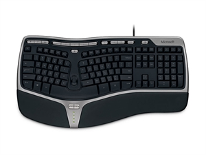 Microsoft Natural Ergonomic 4000 USB keyboard
