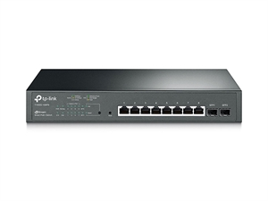 TP-Link T1500G-10MPS JetStream 8-Port Gigabit PoE+ Smart Switch with 2 SFP Slots