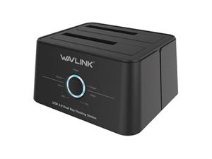 Wavlink USB 3.1 Gen 1 Type-C Dual Bay HDD/SSD Docking Station