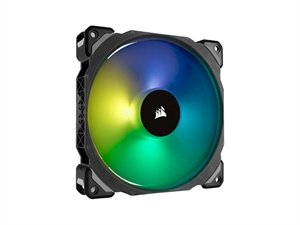 Corsair ML140 PRO RGB LED 140MM PWM Premium Magnetic Levitation Fan - Single Pack