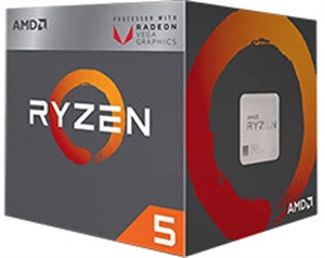 AMD Ryzen 5 2400G Processor with Wraith Stealth Cooler