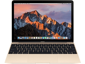 "Apple MacBook 12"" Intel Core m3 1.1GHz 256GB - Gold"