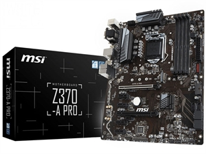 MSI Z370-A PRO Z370 Intel 8th Gen ATX Motherboard