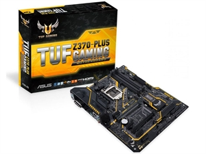 ASUS TUF Z370 Plus Gaming Intel 8th Gen Motherboard