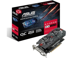 ASUS Radeon RX 560 OC 2GB Graphics Card