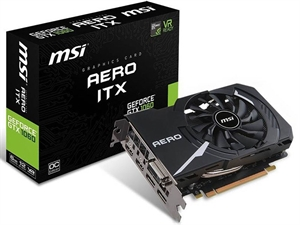 MSI GeForce GTX 1060 Aero ITX 6GB OC Graphics Card