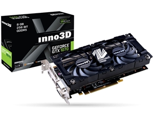 Inno3D GeForce GTX 1070 Twin X2 V3 8GB Graphics Card