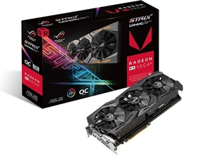 ASUS AMD Raden ROG-STRIX-RXVEGA56-O8G-GAMING Graphics Card