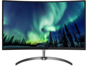 "Philips 278E8QJAB 27"" FHD Curved LED Monitor with FreeSync"