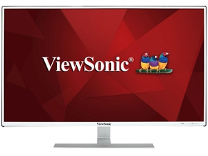 "Viewsonic VX3209-2K 32"" WQHD 8BIT+FRC IPS EyeCare Monitor - White"