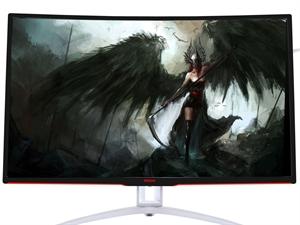 """AOC 31.5"""" AGON AG322FCX Curved FreeSync 144Hz Full HD Display Monitor"""
