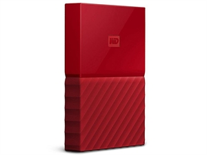 Western Digital WD My Passport 1TB Portable Storage - Red
