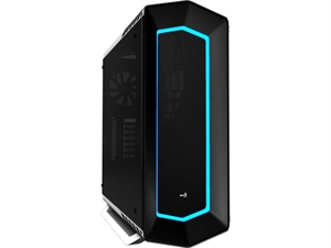Aerocool P7-C1 Tempered Glass Colour LED Front Panel Mid Tower - White