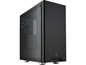 Corsair Carbide 275R Tempered Glass Solid ATX Mid-Tower Case - Black